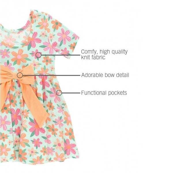 RuffleButts Spring Fling Twirl Dress