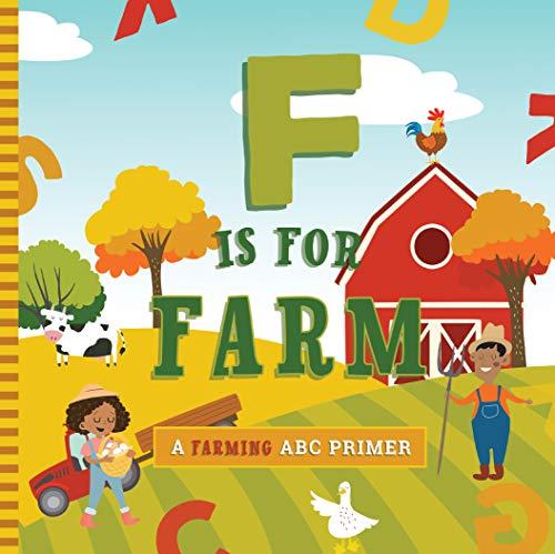 F is for Farm Board Book