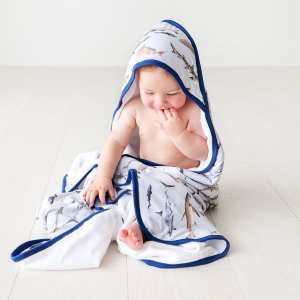 Posh Peanut Maverick Hooded Towel