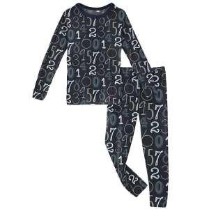 KicKee Pants Deep Sea Math Long Sleeve Pajama Set