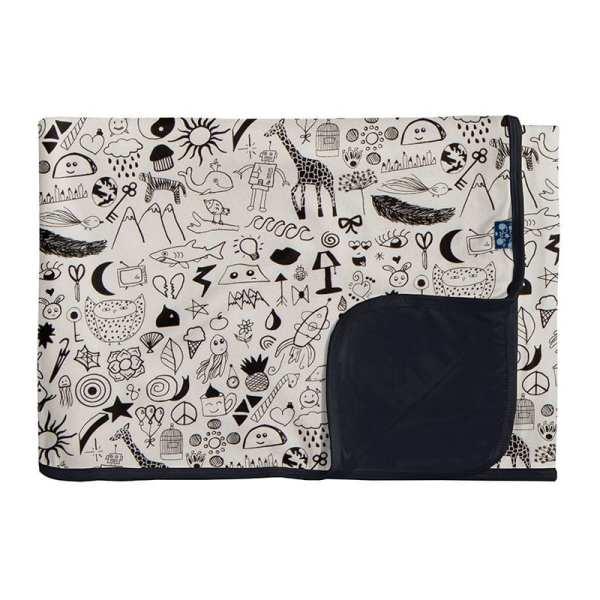 KicKee Pants Doodles Toddler Blanket