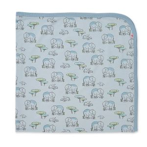 Magnetic Me Blue Love You A Ton Swaddle Blanket