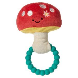 Mary Meyer Fairyland Mushroom Teether Rattle