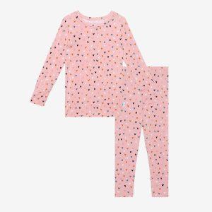 Posh Peanut Cassidy Long Sleeve Basic Pajamas