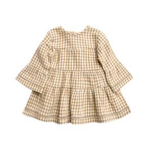 Quincy Mae Honey Gingham Belle Dress