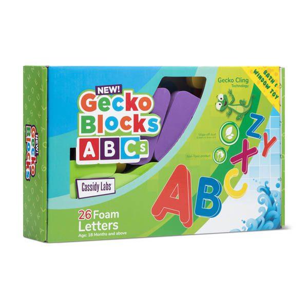 Cassidy Labs Gecko Blocks ABCs 26 Pack