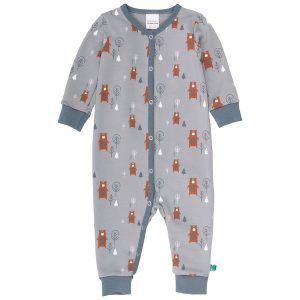 Fred's World Bears Bodysuit Romper with Snaps