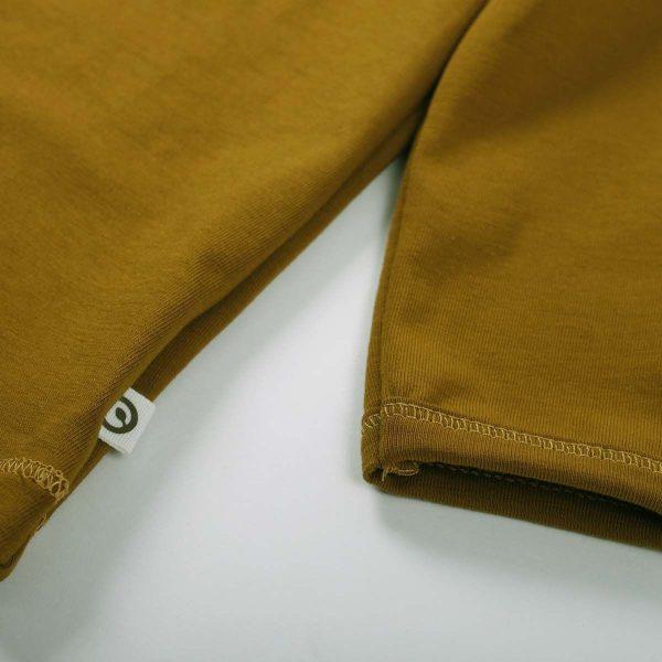 Müsli Cozy Me Long Sleeve T-shirt with Collar - Pesto
