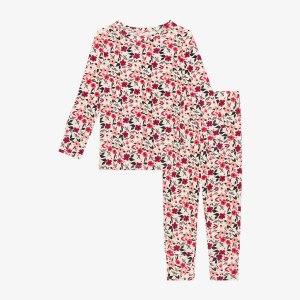 Posh Peanut Janie Long Sleeve Basic Pajamas