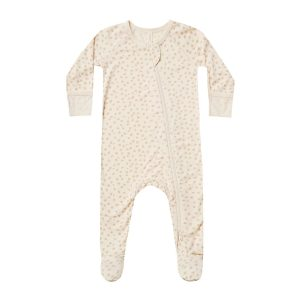 Quincy Mae Scatter Bamboo Footie
