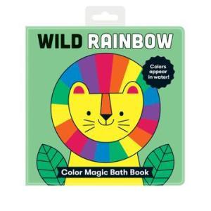 Wild Rainbow Color Magic Bath Book