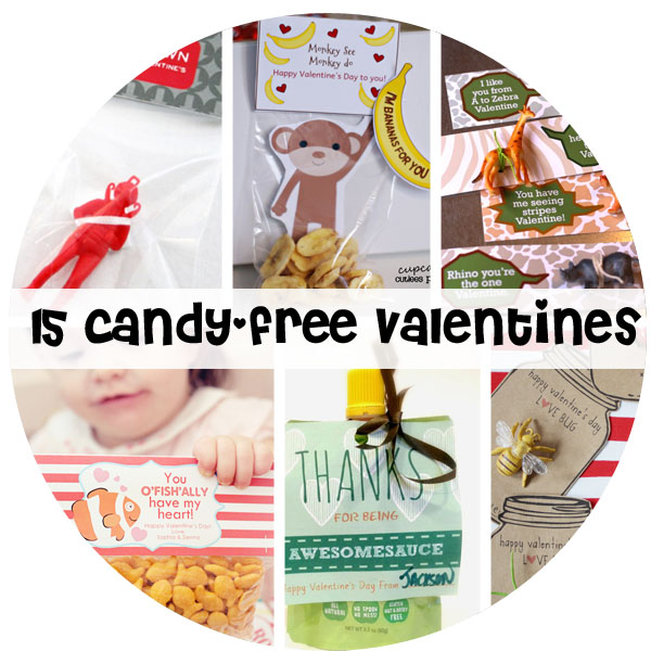 15 Candy Free Valentines