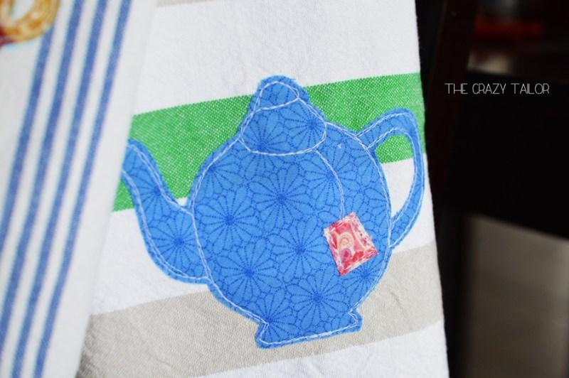 Half-Handmade Tea Towels