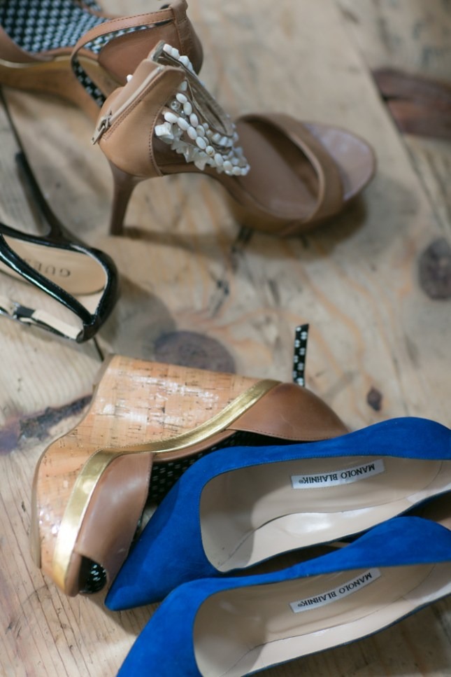 Photos of shoes & accessories, taken by Peekaboo Portland
