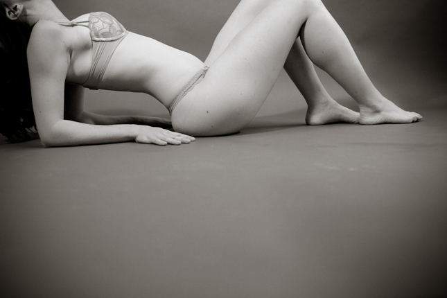 Boudoir photo by Peekaboo Portland