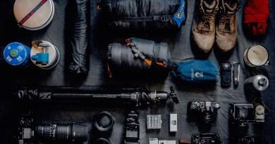 travel blogging equipment