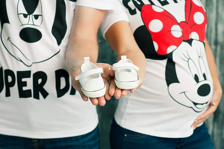 pregnancy baby s bootees mickey mauz family preview
