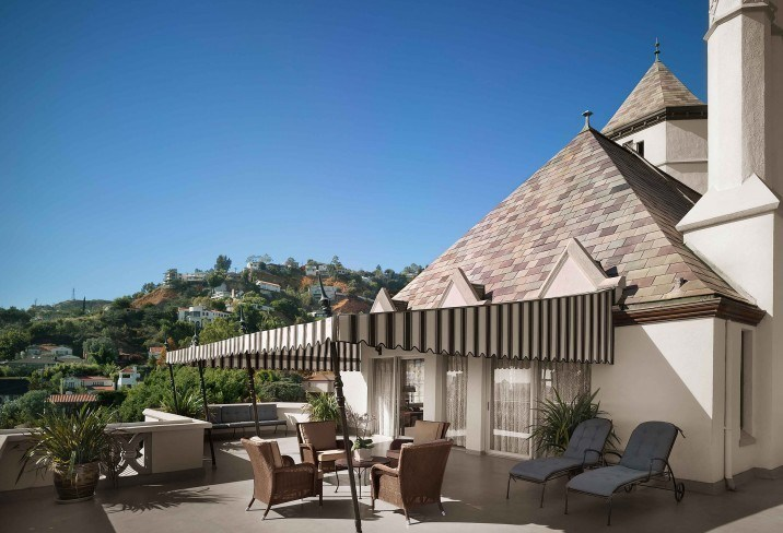 Chateau Marmont, Los Angeles, USA