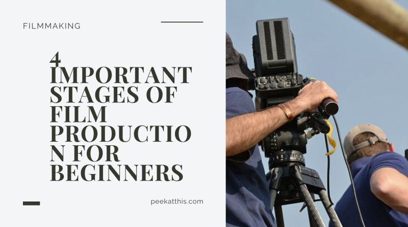 Stages Of Film Production