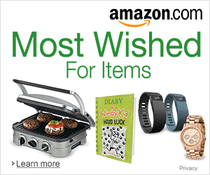 Amazon Most Wished Items
