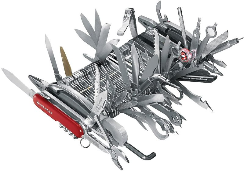 Wenger 16999 Swiss Army Knife Giant - Funniest Amazon Reviews