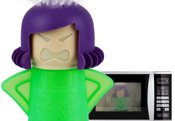 Angry Mama Microwave Cleaner Microwave Oven Steam Cleaner Doll for Home