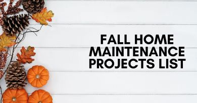 Fall Home Maintenance Projects - 3 Important Areas To Focus On