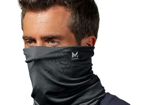 Mission Cooling Neck Gaiter Customize Your Coverage, Face Mask, Cools when Wet