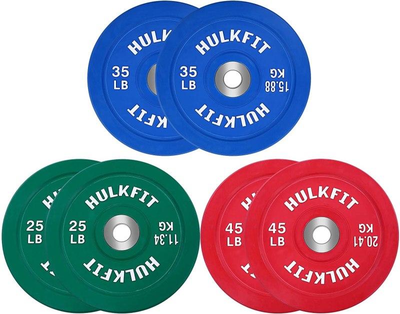 Hulkfit bumper plates