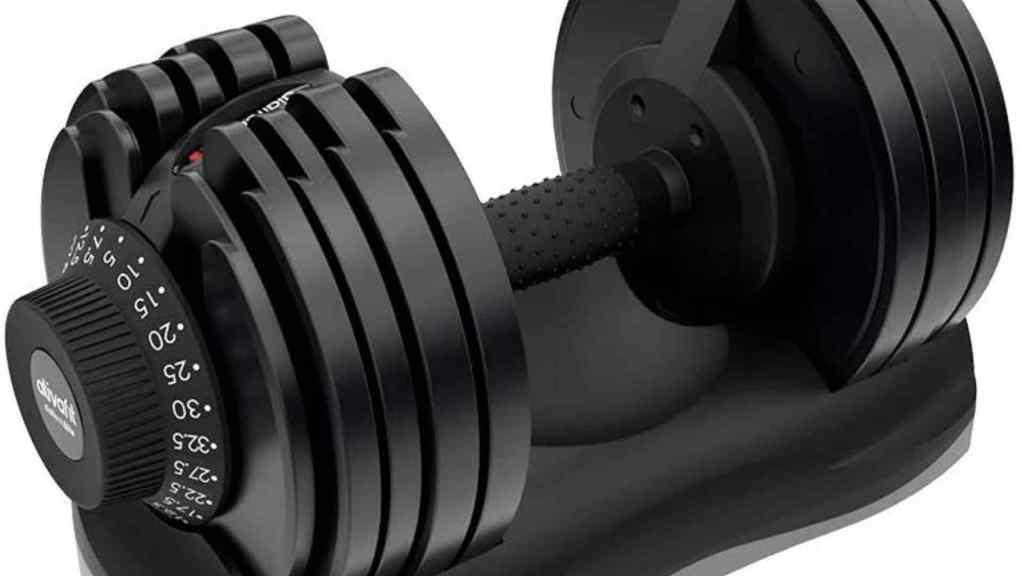 ATIVAFIT Adjustable Dumbbell Fitness Dial adjustable Dumbbell