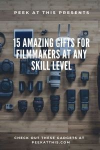 15 Amazing Gifts For Filmmakers At Any Skill Level