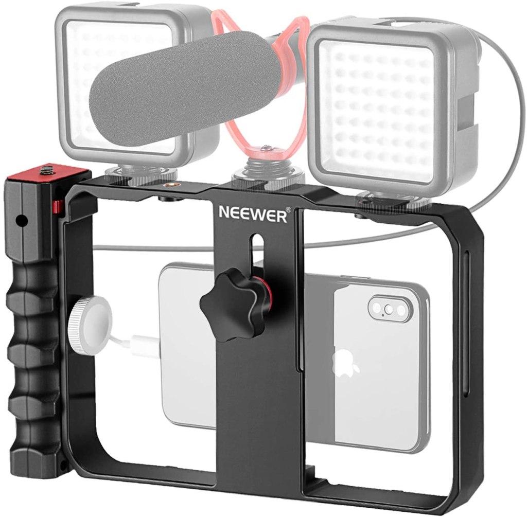 Neewer U Rig Smartphone Video Rig, Filmmaking Case
