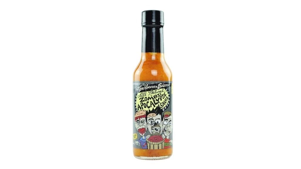 Zombie Apocalypse Ghost Chili Hot Sauce