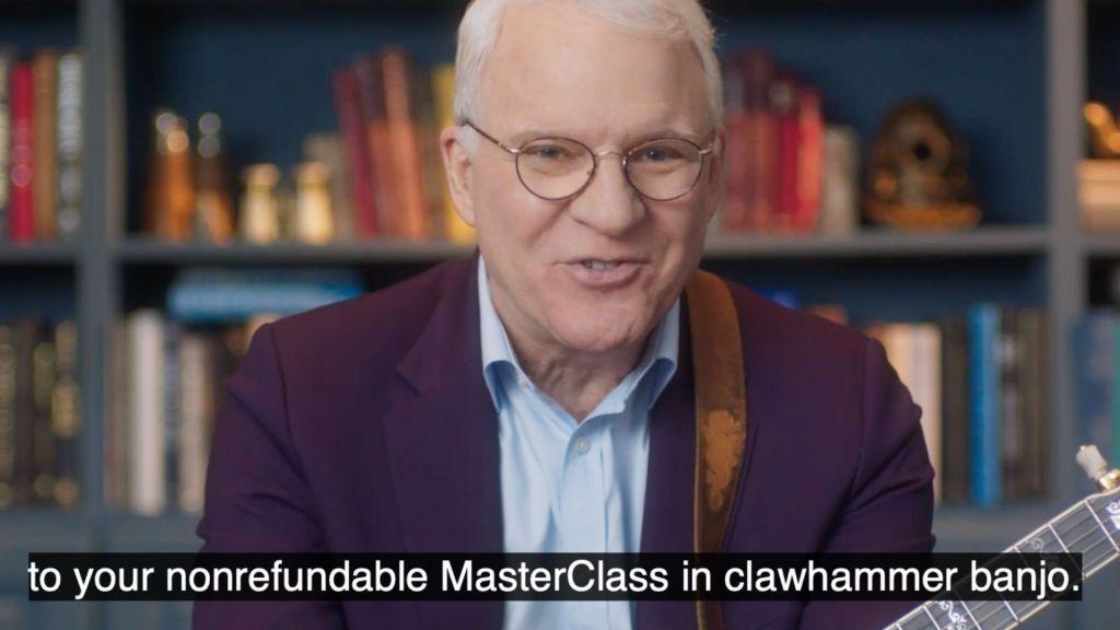 Steve Martin Masterclass
