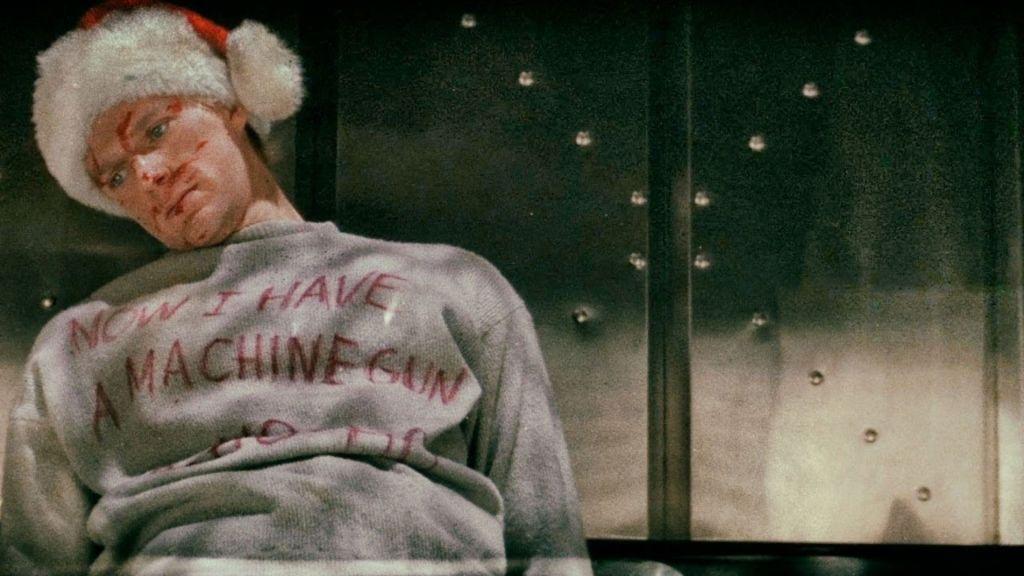 Die Hard movie t-shirt