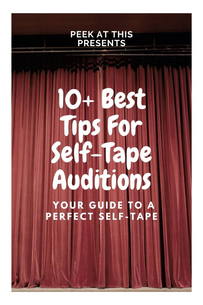 self-tape auditions