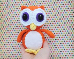 Oscar the Wide Eyed Owl