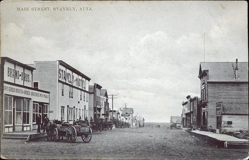 address on a postcard