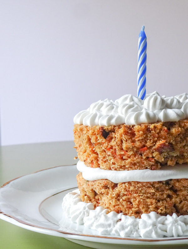 A healthier version of the classic carrot cake. The ultimate birthday dessert. Low sugar, gluten and dairy free. Easy to make and fancy decorations NOT required! peelwithzeal.com