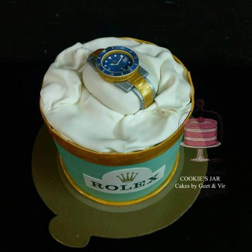geet cake rolex