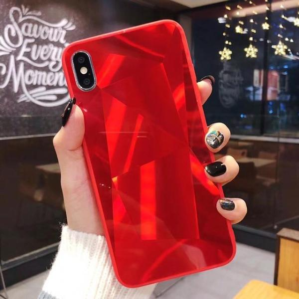 Diamond Texture iPhone Case for iPhon 6, iPhone 6s, iPhone 7, iPhone 8, iPhone 6s plus, iPhone 7 plus, iPhone 8 plus, iPhone x, iPhone xs, iPhone xs max, iPhone xr