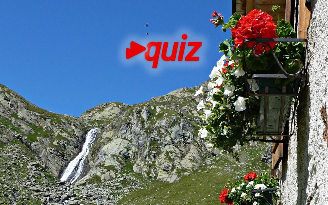 Quiz: conosci le cascate e le gole dell'AltoAdige?