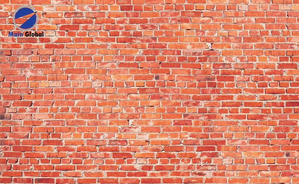 Brick RED BRICK zero ghosting writable wall covering