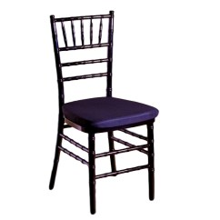 Chiavari Chairs Rental Houston Chippendale Rocking Chair Black With Pad Peerless Events And Tents