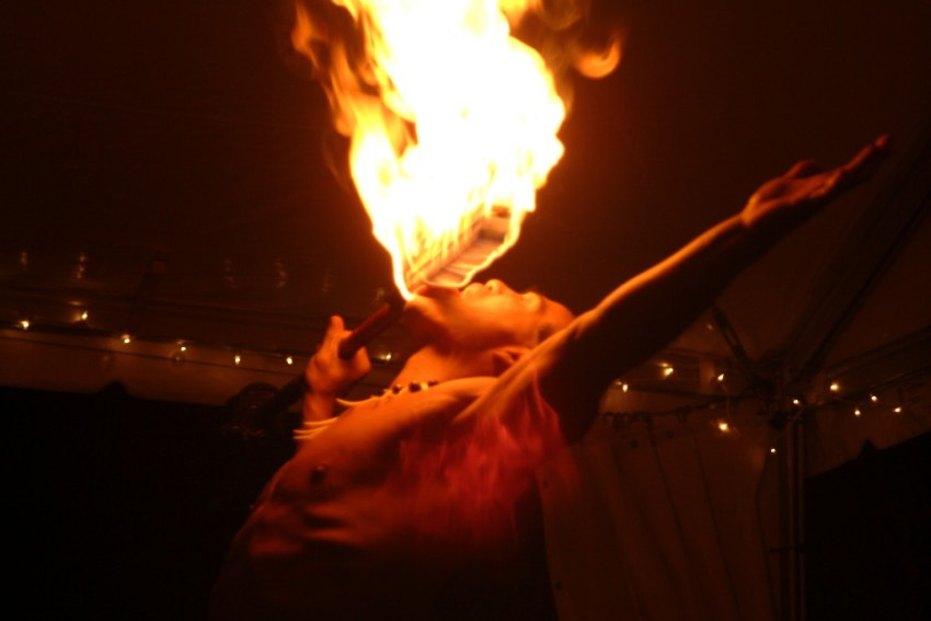 Fire Knife Eater
