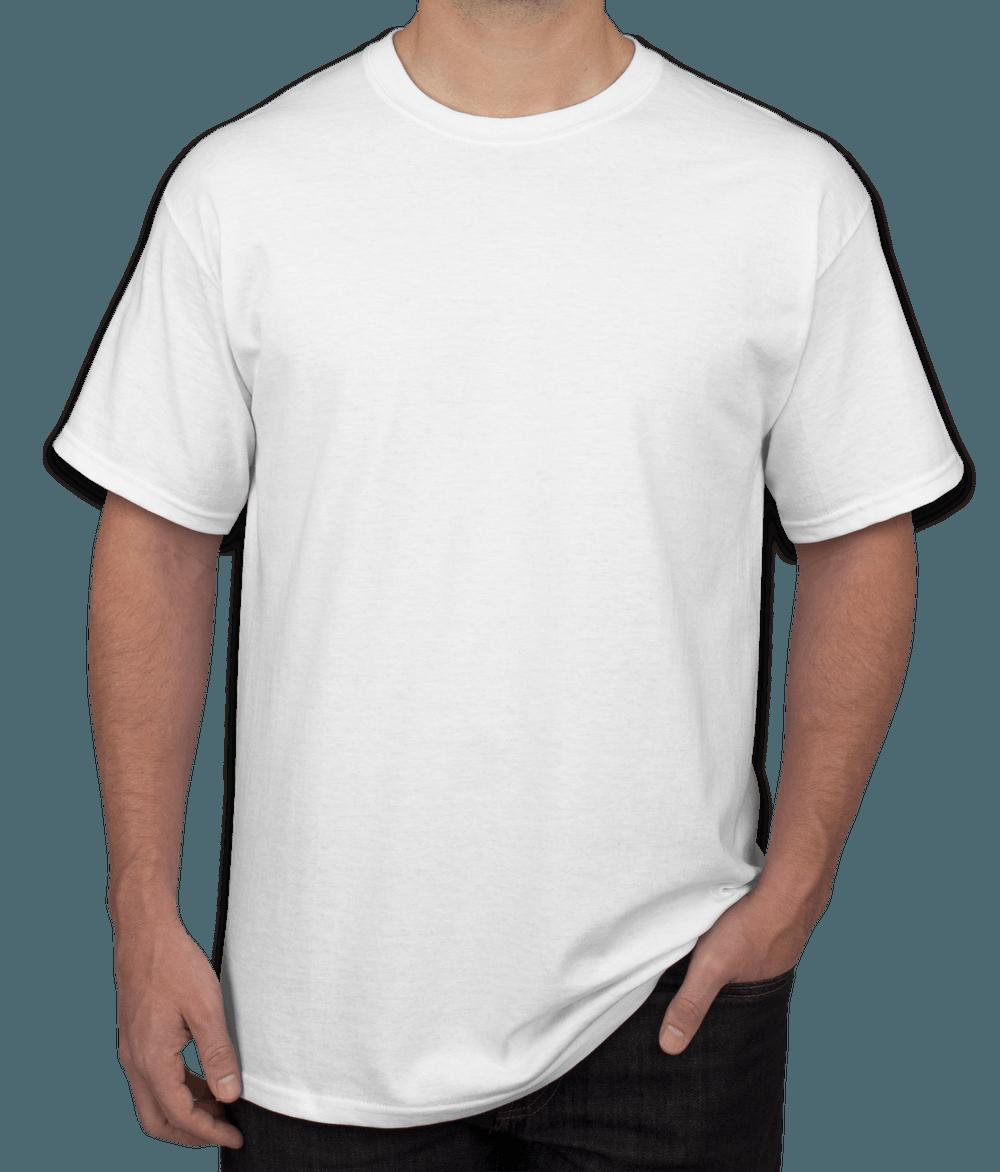 Men White TShirt  Product Customization  PeersandCheeers