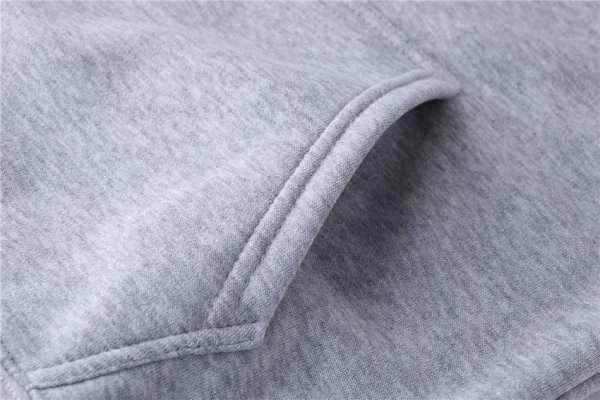 Sweat à capuche classique couleur unie pour hommes