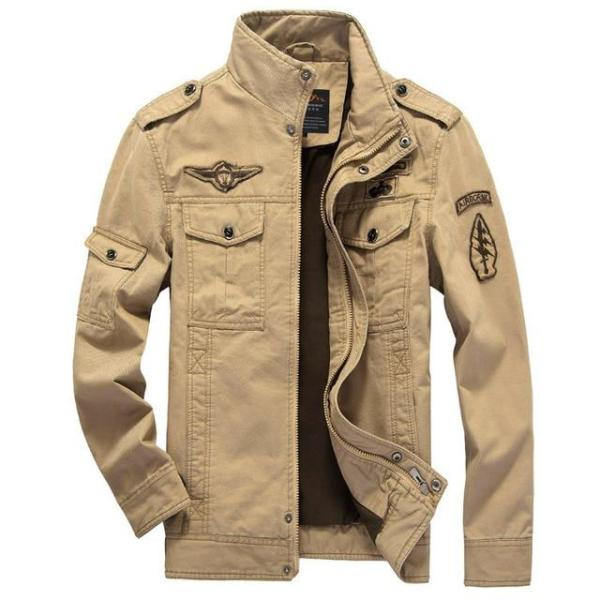 Casual military cargo cargo jacket