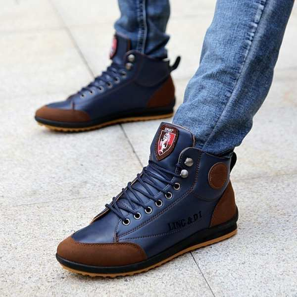 Casual stylish comfortable men's shoes
