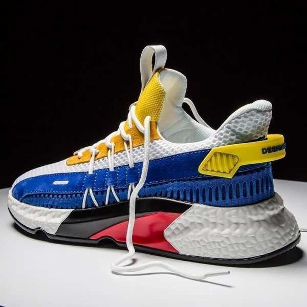Light sneakers breathable original design man
